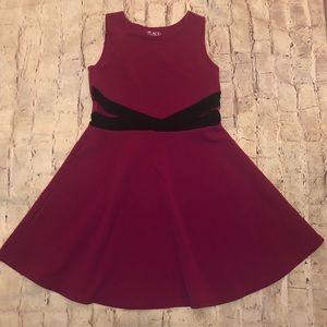 TCP Girls dress fit & flare cranberry Sz 10 / 12